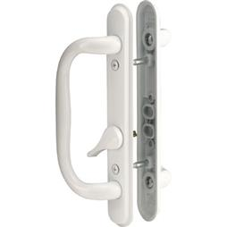 Picture of C 1284 - Patio door Mortise Style handle,  White Diecast inside & outside handles, 1 per pkg.