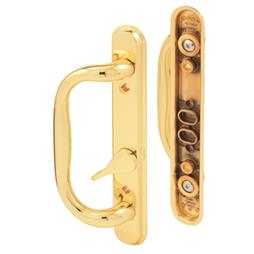 Picture of C 1287 - Patio door Mortise Style handle,  Brass Diecast inside & outside handles, 1 per pkg.