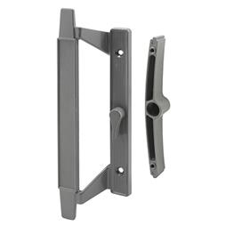 Picture of C 1297 - Patio Door Mortise Style handle for Howard doors, Gray Diecast, 1 per pkg.