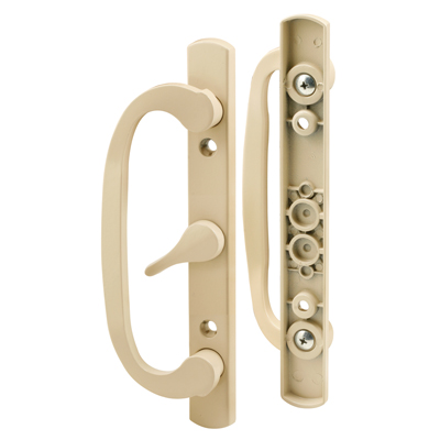 Picture of C 1344 - Patio door Mortise Style handle,  Almond Diecast inside & outside handles, 1 per pkg.