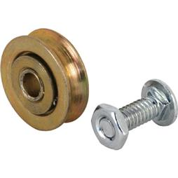 Picture of D 1500 - Steel Ball Bearing Roller  Replacement, 1 inch Diameter, bolt and nuts, 2 per package