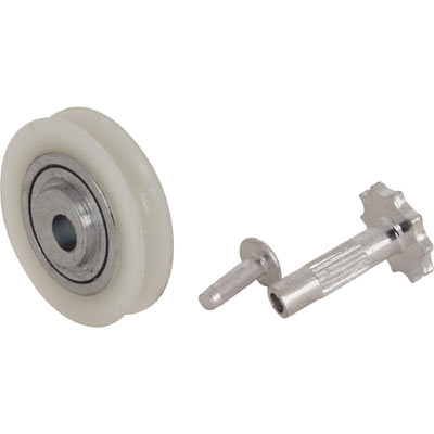 Picture of D 1505 - Adjustable Nylon Ball Bearing Roller, Off Center Hole, 2 Pack