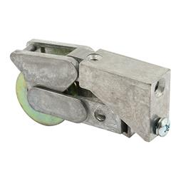 Picture of D 1532 - Single 1-1/4 inch Steel  Roller Assembly, Ball Bearing, Diecast Plain Back, 1 Pack