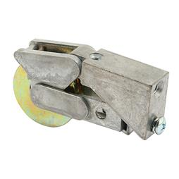 Picture of D 1533 - Single 1-1/2 inch Steel  Roller Assembly, Ball Bearing, Diecast Plain Back, 1 Pack