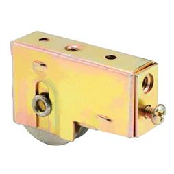 Picture of D 1537 - Single 1-1/2 inch Steel  Roller Assembly, Ball Bearing, Plain Back Housing, 1 Pack