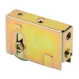 Picture of D 1542 - Single 1-1/4 inch Steel  Roller Assembly, Ball Bearing, Plain Back Housing, 1 Pack