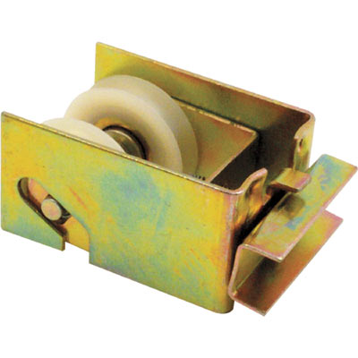Picture of D 1547 - Two parallel 1-1/4 inch Nylon Roller Trolley Assembly, Steel Housing, 1 Pack
