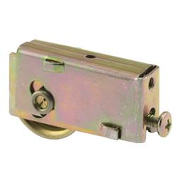 Picture of D 1554 - Single 1-1/4 inch Steel  Roller Assembly, Ball Bearing, Plain Back Housing, 1 Pack