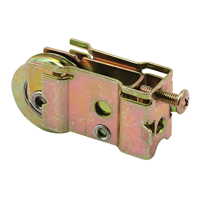 Picture of D 1559 - Single 1-1/4 inch Steel  Roller Assembly, Ball bearing, Plain Back Housing, 1 Pack
