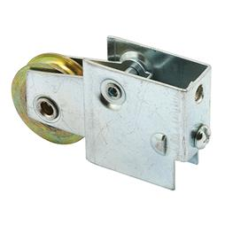 Picture of D 1561 - Single 1-1/4 inch Steel  Roller Assembly, Ball Bearing, Plain Back Housing, 1 Pack