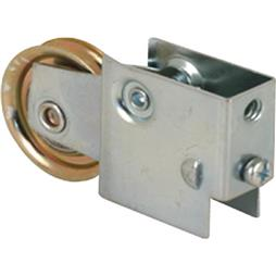 Picture of D 1562 - Single 1-1/2 inch Steel  Roller Assembly, Ball Bearing, Plain Back Housing, 1 Pack