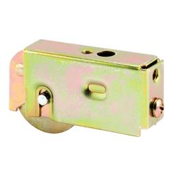 Picture of D 1563 - Single 1-1/2 inch Steel  Roller Assembly, Ball Bearing, Plain Back Housing, 1 Pack