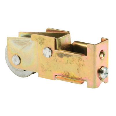Picture of D 1590 - 1 inch Steel Ball Bearing Roller Assembly, Unique Back, Steel, 1 Pack