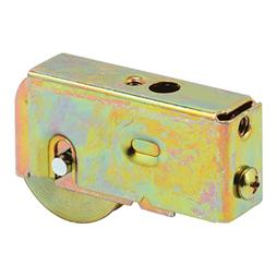 Picture of D 1592 - Single 1-1/2 inch Steel  Roller Assembly, Ball Bearing, Plain Back Housing, 1 Pack