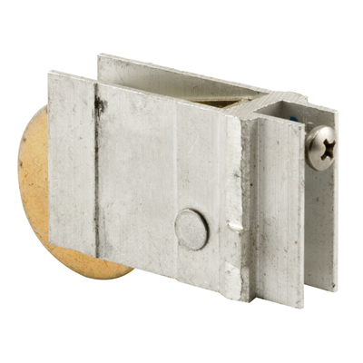 Picture of D 1598 - Single 1-1/2 inch Steel Roller Assembly, Ball Bearing, Unique Back Housing, 1 Pack