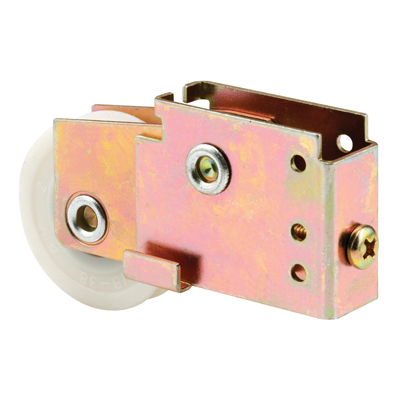 Picture of D 1599 - Single 1-1/2 inch Nylon  Roller Assembly, Ball Bearing, Unique Back Housing, 1 Pack