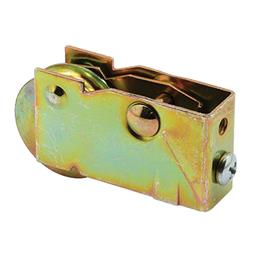 Picture of D 1601 - Single 1-1/4 inch Steel  Roller Assembly, Ball Bearing, Plain Back Housing, 1 Pack