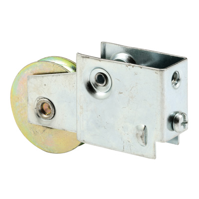 Picture of D 1608 - Single 1-1/2 inch Steel  Roller Assembly, Ball Bearing, Plain Back Housing, 1 Pack