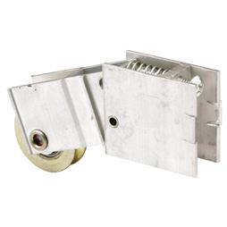 Picture of D 1616 - Single 1-1/4 inch Steel Roller Assembly, Ball Bearing, Unique Back Housing, 1 Pack