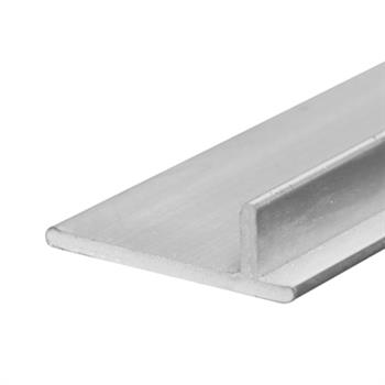 Picture of D 1665 - Sliding Screen Door Track, 10', Aluminum, Anodized