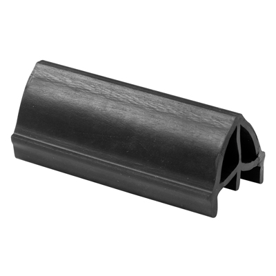 Picture of D 1700 - Bumper, Black, 2-5/8 inches, Extruded Rubber, Anti-Slamming, Patio Door, 1 Pack