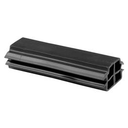 Picture of D 1792 - Bumper, Black, 3-3/8 inches, Extruded Rubber, Anti-Slamming, Patio Door, 1 Pack