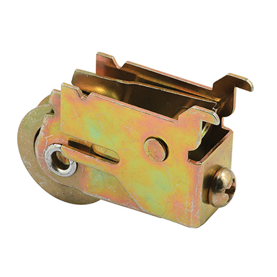 Picture of D 2026 - Single 1-1/8 inch Steel Roller Assembly, Unique Back, Premier Doors, 1 pack