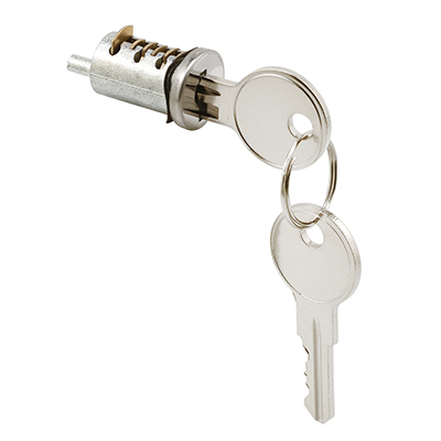 """Picture of E 2005 - Cylinder Lock, 13/16"""", Diecast, Wafer Type, 1"""" Thick Door, Pack of 1"""