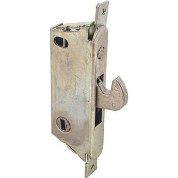 Picture of E 2009 - Mortise Lock, 3-11/16 inch Mounting Holes, Steel, Vertical Keyway, Round Faceplate, Pack of 1
