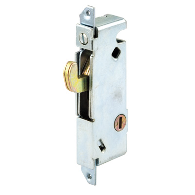 Picture of E 2012 - Mortise Lock, 3-11/16 inch Mounting Holes, Steel, Vertical Keyway, Square Faceplate, Pack of 1
