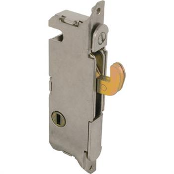 Picture of E 2013 - Mortise Lock, 3-11/16 inch Mounting Holes, Steel, Vertical Keyway, Round Faceplate, Pack of 1