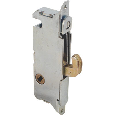 "Picture of E 2014 - Mortise Lock, 3-11/16"", Steel, 45? Keyway, Round Faceplate"