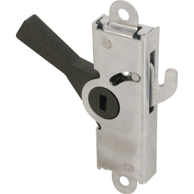 Picture of E 2029 - Internal Lock, Steel Housing and Hook, 2-3/8 inch mounting Holes, Pack of 1