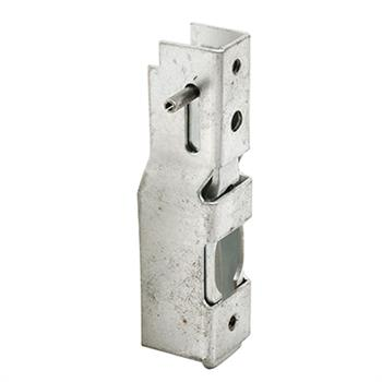 Picture of E 2080 - Mortise Lock, 2-1/2 inch Mounting Holes, Steel Construction, Pack of 1