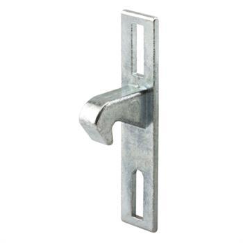 E 2093 Sliding Door Keeper Diecast Zinc Plated 1 13 16