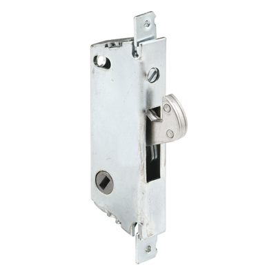 "Picture of E 2111 - Mortise Lock, 3-11/16"", Steel, 45? Keyway, Square Faceplate"