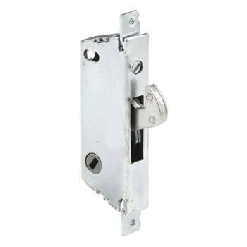Picture of E 2118 - Mortise Lock, 3-11/16 inch Mounting Holes, Steel, 45 Degree Keyway, Square Faceplate, Pack of 1