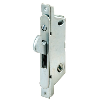 "Picture of E 2119 - Mortise Lock, 3-11/16"", Steel, 45? Keyway, Round Faceplate"