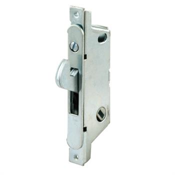 Picture of E 2119 - Mortise Lock, 3-11/16 inch Mounting Holes, Steel, 45 degree Keyway, Round Faceplate, Pack of 1