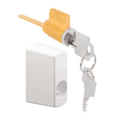 Picture of E 2145 - Keyed Locking Unit (white)