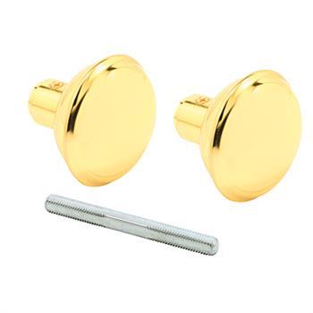 E 2297 Door Knob Set 17 64 Quot Sqr Spindle Solid Brass