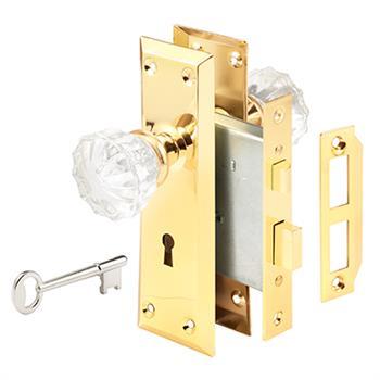 E 2311 Mortise Lock Set 2 3 8 Quot Backset Steel Polished