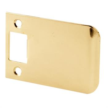 E 2345 Extended Lip Strike 3 Inch Solid Brass Construction