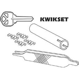 Picture of E 2400 - Kwikset Re-Key A Lock Kit, 5-Pin Tumbler Sets w/Keys, Tools