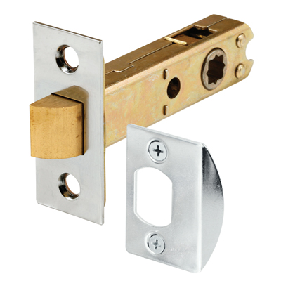 Picture of E 2440 - Passage Door Latch, 9/32 in. & 5/16 in Square Drive, Chrome Finish