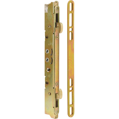 Picture of E 2473 - Mortise Lock, 9-7/8 inch Mounting Hole, Steel, 45 Degree Keyway, Multi-Point Latch