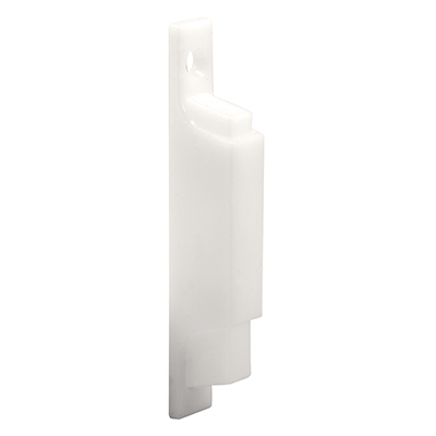 Picture of F 2504 - Sliding Window Pull and Latch, 2-7/8 inch Hole Centers, Plastic, White, Pack of 1
