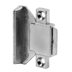"Picture of F 2507 - Pull and Latch 1-7/8"" Diecast, Brite Zinc, Surface Mount"