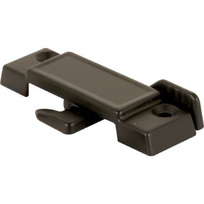 Picture of F 2512 - Sliding Window Sash Lock, 2-1/4 inch Hole Centers, Diecast, Black, Pack of 1