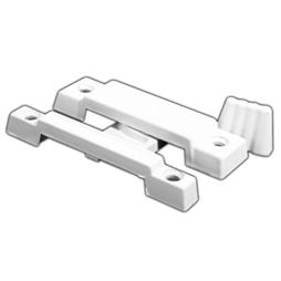 Picture of F 2533 - Window Sash Lock, Cam Action, Diecast, White, 2-1/4 inch Hole Centers, Pack of 1